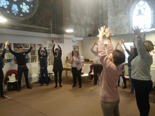Embodied practice with Jessica Bockler