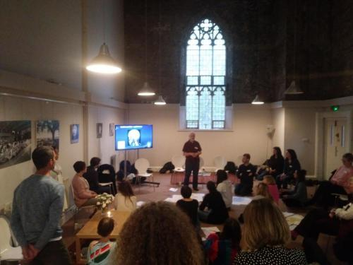 Kabbalistic meditation with  Les Lancaster